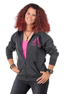 Mikina Anaconda Lady Team Zipper Hoodie L